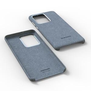 Image 4 - 100% Original GENUINE Samsung S20 Ultra Case For Galaxy S20Plus S20 + Alcantara Cover Leather Premium Full Protect Cover 5 color