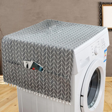 Cover-Towel Cloth Refrigerator-Cover Washing-Machine Cabinet Gray-Arrow Bedside Home-Decoration