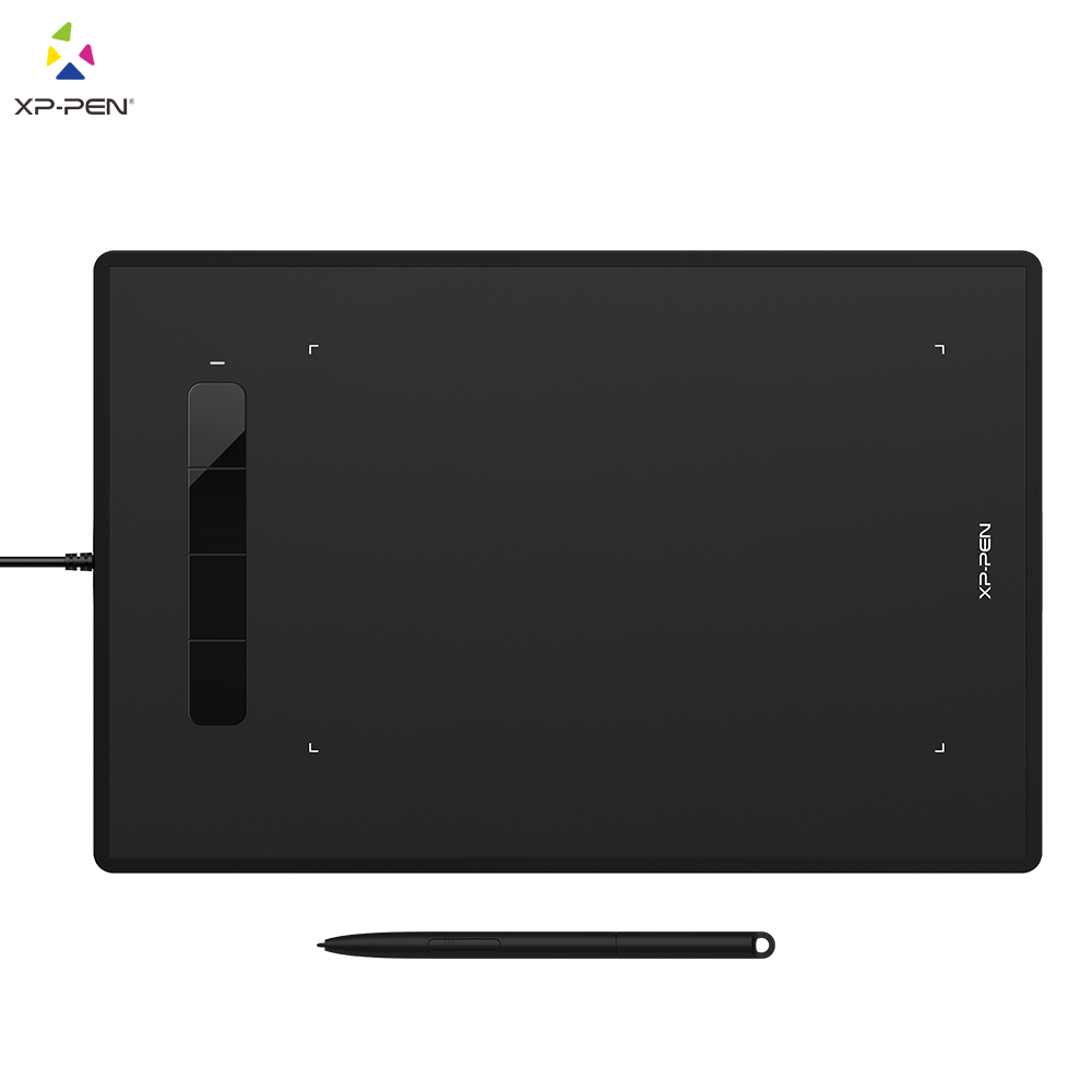 XP-Pen Star G960 Digital Drawing Tablet Graphic Tablet 8192 Levels Digital With Tilt Support Android Windows MAC Pen Tablet Art