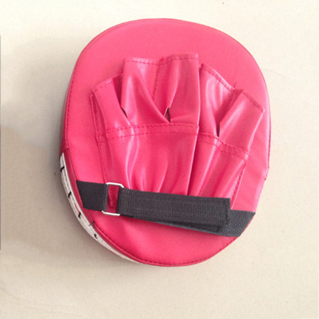 1Pcs Leather Boxing Gloves Pad Hand Training Mitt Focus Punch Target Pads Adults Kids Equipment