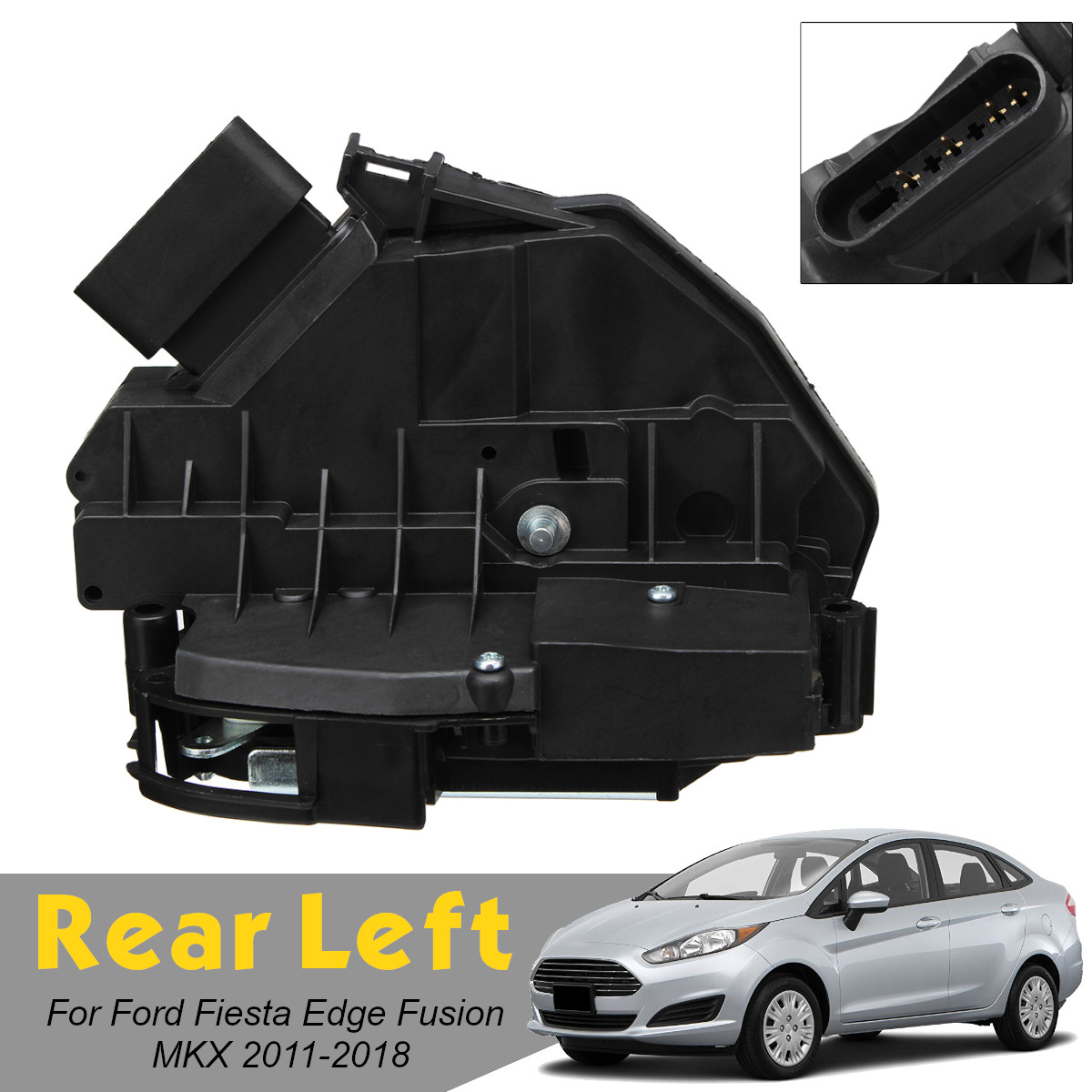 Передняя Задняя Левая Правая Автомобильная дверная защелка привода BE8Z5426413B AE8Z5426413A для Ford для Fiesta для Edge для Fusion MKX 2011 2018