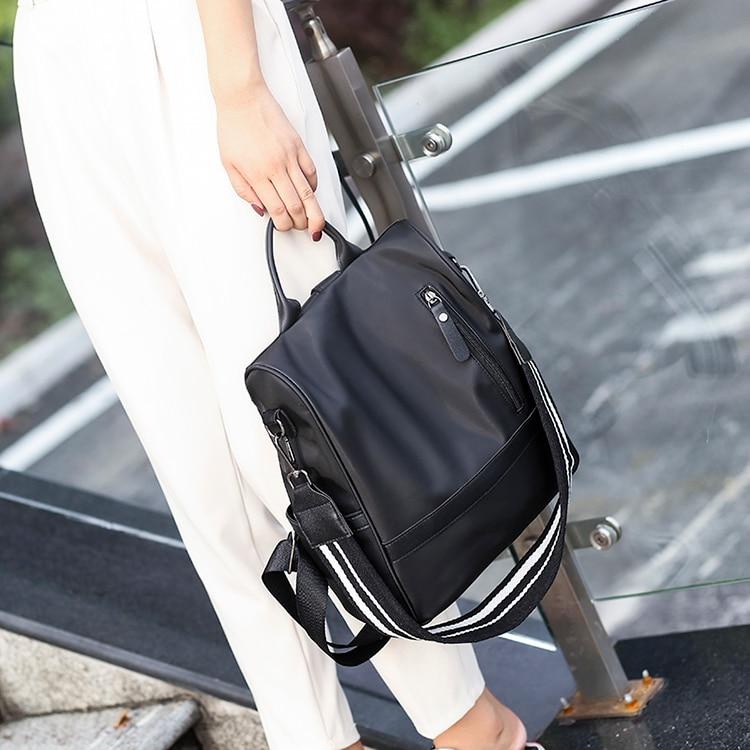 He6fbf8492a814bb1aa9de6902d17485dD Anti-theft women backpacks ladies large capacity backpack high quality bagpack waterproof Oxford women backpack sac a dos