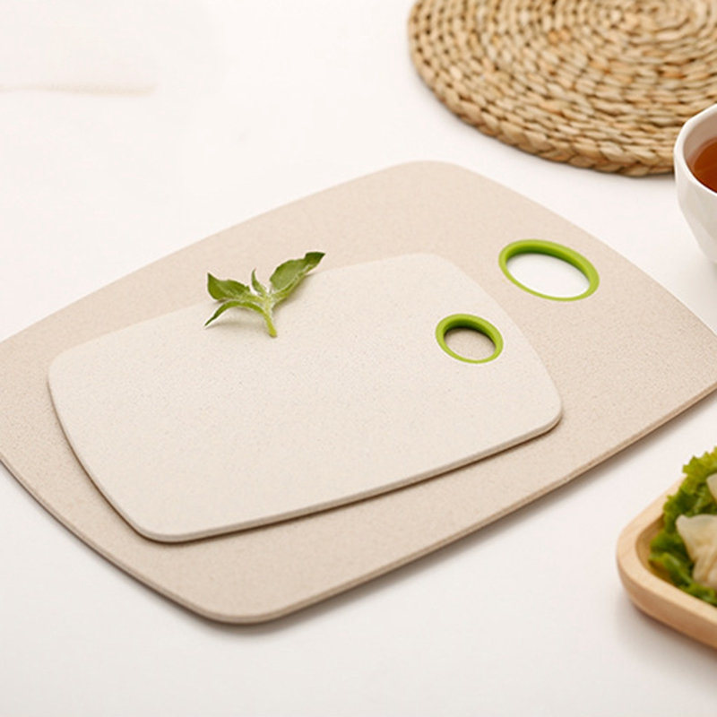 2pcs/set chopping board non slip block cutting set eco friendly