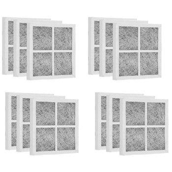12 Uds filtros de aire para nevera, piezas de repuesto para LG LT120F Elite, reemplazo ADQ73214404, juego 469918