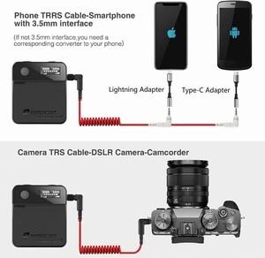 Image 5 - Relacart MI1 MI2 Lavalier Wireless Microphone System Transmitter Kit Vlog Video Recording Studio Mic for DSLR Camera Smartphone