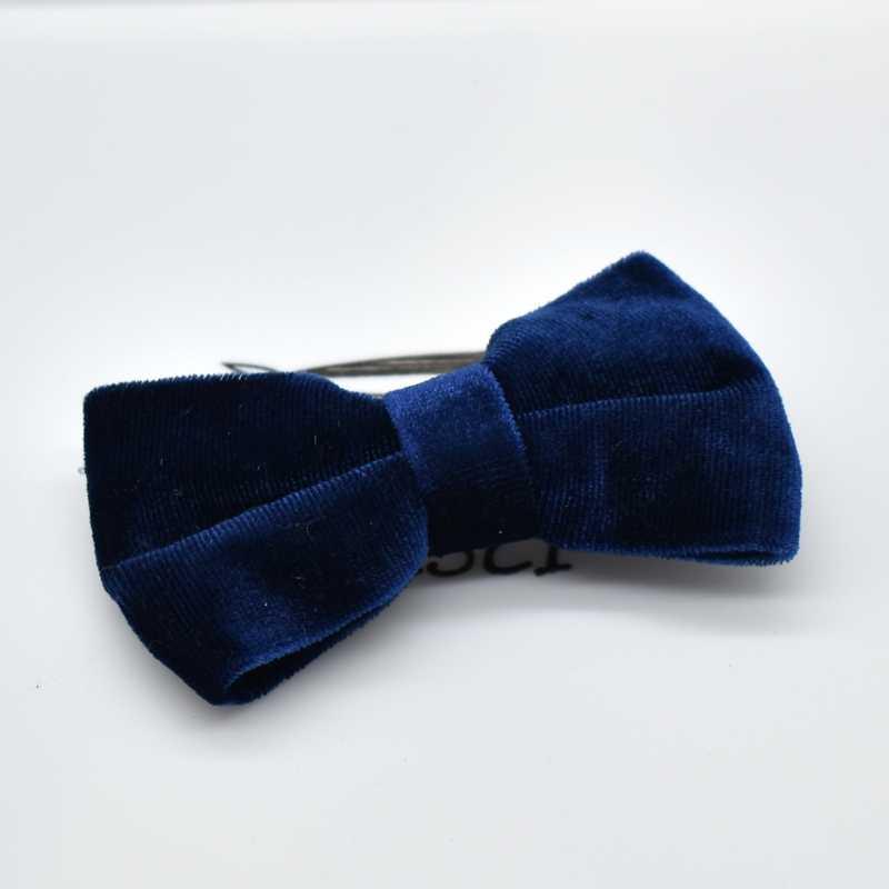 Women Hair Accessories Velvet Hair Bows For Girls Solid Knot Hair Clips Hairpins Handmade Barrettes Headwear Headband