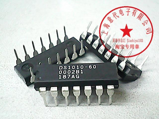 5pcs DS1010-60 DIP-14
