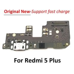 Connecteur USB d'origine chargeur Port Dock câble de charge pour Xiaomi Redmi 5 Plus carte de chargement USB avec Micro