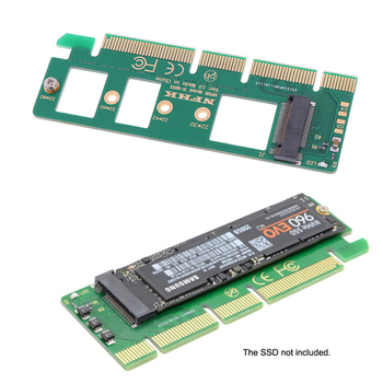 Hot sale 1PC NVMe M.2 NGFF SSD to PCI-E PCI express 3.0 16x x4 adapter riser card converter image