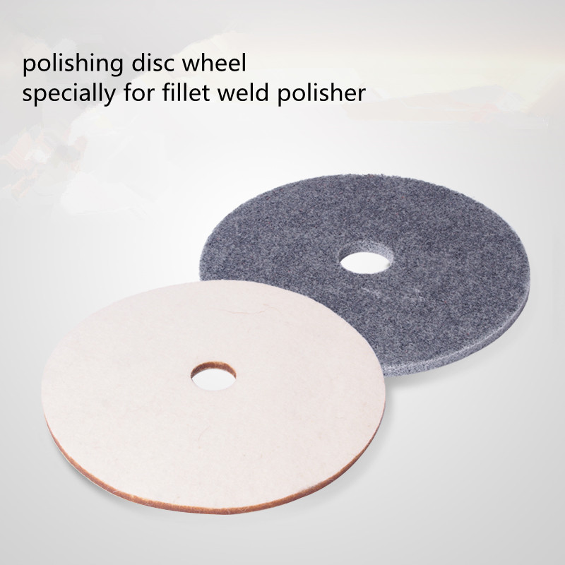 150mm Disc Polishing Wheel For Fillet Weld Polisher Corner Grinder Machine Wool Disc Wheel