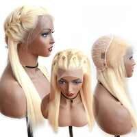 BEAUDIVA #613 สีบลอนด์ลูกไม้ Wigs Silky บราซิลตรง 13*4 ลูกไม้ด้านหน้ามนุษย์ Wigs ผม