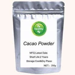 Pure Cacao Powder Theobroma Cacao  For Lower Blood Pressure Sugar-Free Keto Vegan Non-GMO Antioxidant