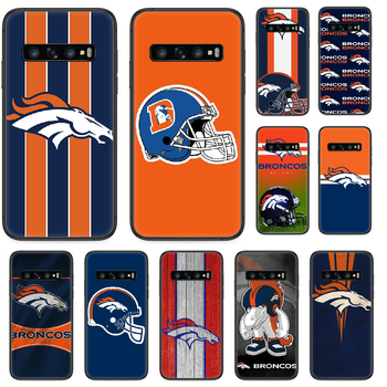 Denver Bronco American Football Phone case For Samsung Galaxy S 10 20 3 4 5 6 7 8 9 Plus E Lite Uitra black cell cover 3D coque image