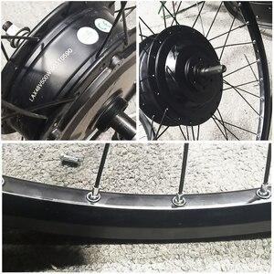 Image 2 - 電動自転車変換キット48v 500ワット13AH usbマウンテンバイクホイールモータ用26/29インチ電動自転車accessori
