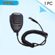 מקורי Baofeng רמקול מיקרופון מיקרופון PTT עבור Portable שתי דרך רדיו ווקי טוקי BAOFENG 888S C1 UV 5R UV 5RE UV 5RA UV 6R