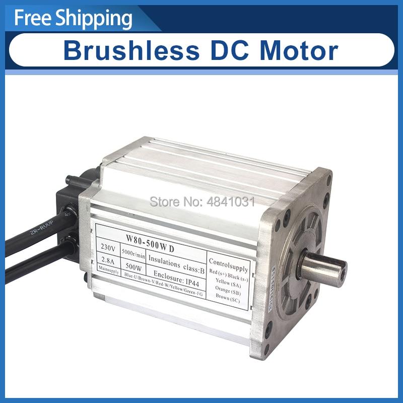 Brushless DC Motor 220v W80-500wD SIEG SC2-014 5000 RPM JET BD-X7 lathe Motor