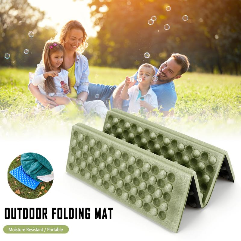 Outdoor Foldable Hiking Camping Pad Lawn Dinning Cushion Foam Sitting Seat Mat