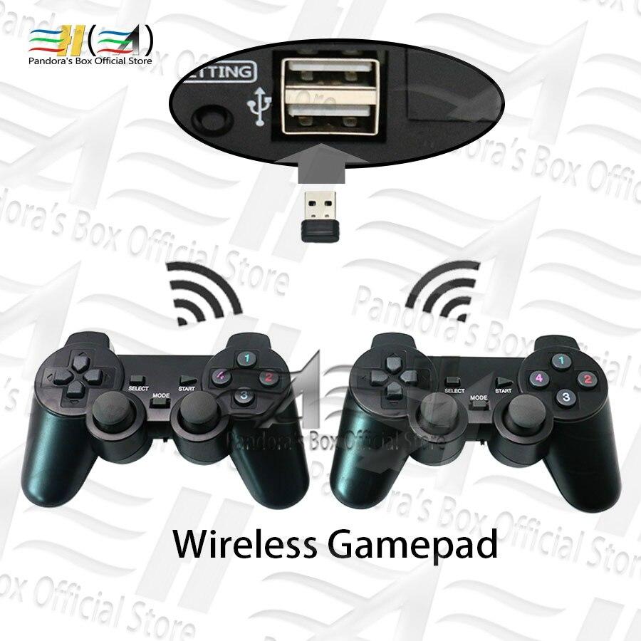 Usb беспроводной геймпад проводной джойстик 2 игрока геймпад plug and play для Pandora box DX Аркада и семейная версия 3P 4P игр
