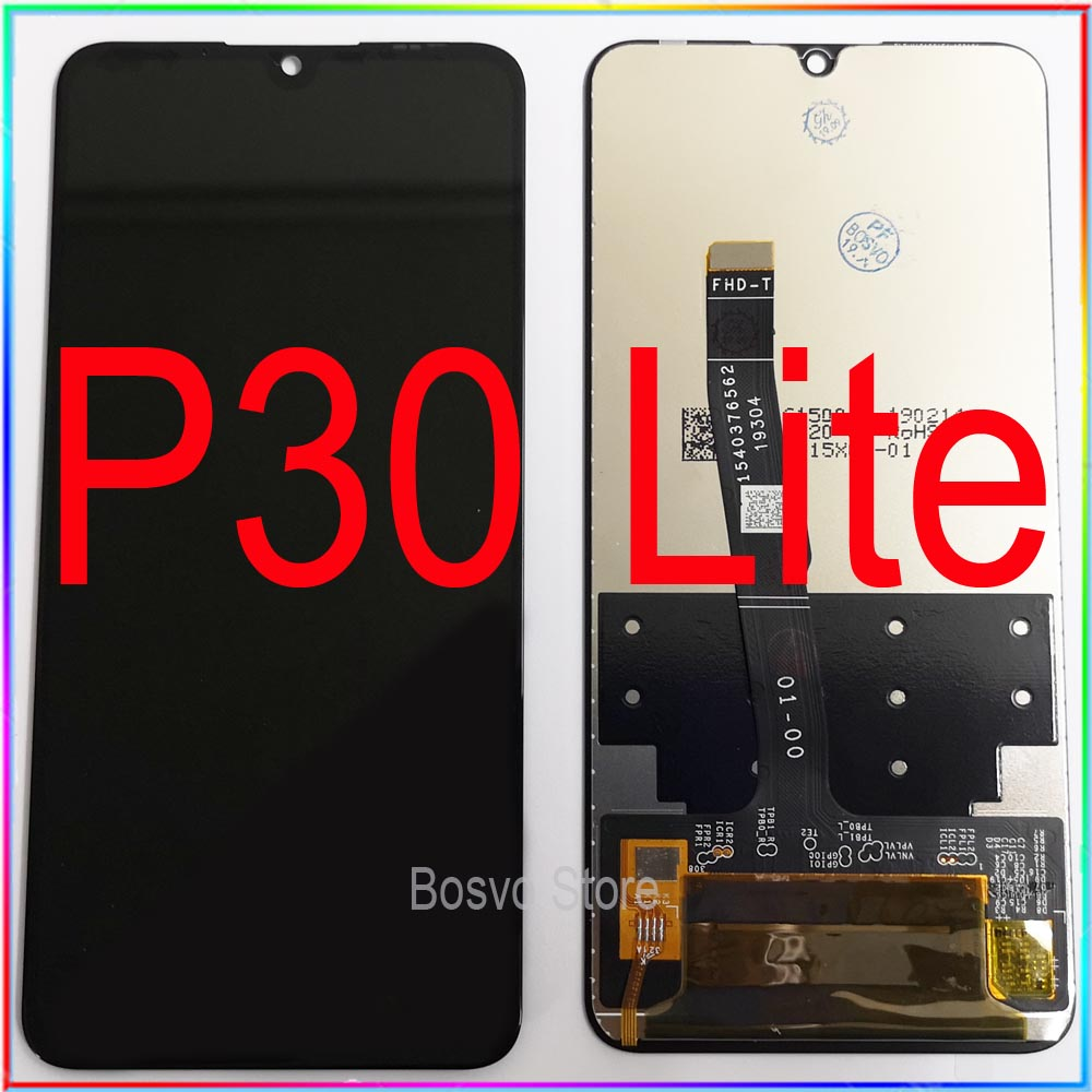 For Huawei P30 Lite LCD Screen Display Nova 4e MAR-LX1 LX2 AL01 With Touch Assembly Replacement Repair Parts
