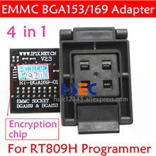 Emmc-Adapter Emcp169-Socket Rt809h-Programmer BGA153 RT-BGA169-01 BGA64 New FOR EMCP153