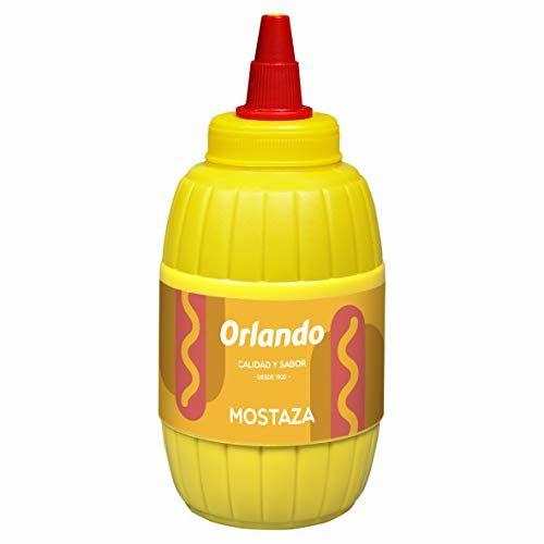Orlando - Salsa Mostaza - 290 G