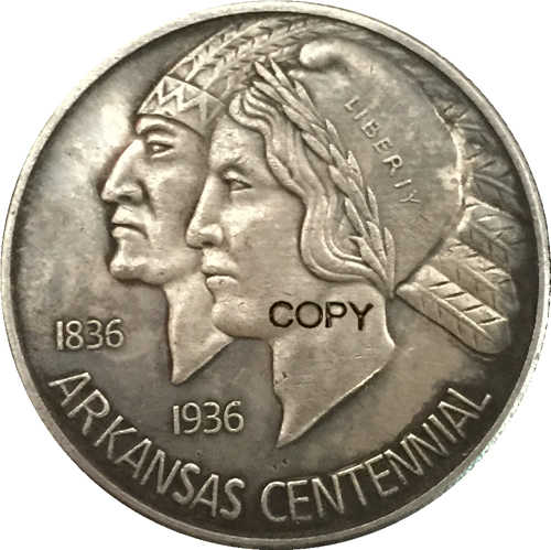 USA 1936 Half Dollar COPY MUNTEN