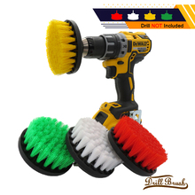 1pc 5 Inch Soft Plastic Drill Brush Attachment for Cleaning Carpet Leather and Upholstery