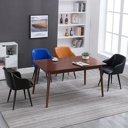 Północnej europejski styl krzesło do jadalni z litego drewna minimalistyczny nowoczesne tkaniny krzesła Hotel kawiarnia krzesło gospodarstwa domowego projektant stworzyć na