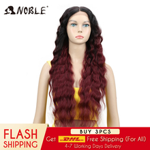 Noble Blonde Lace Front Wig Long 30