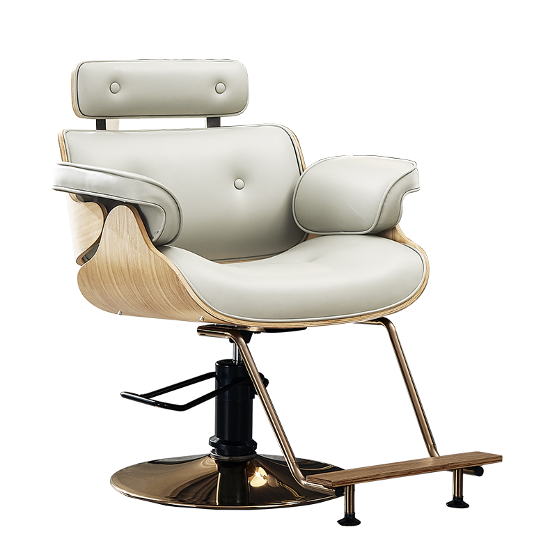 Net Red Chair Hairdressing Chair Barber Shop Chair Hair Salon Dedicated Can Be Placed Down Reclining Barber Chair Haircut Chair