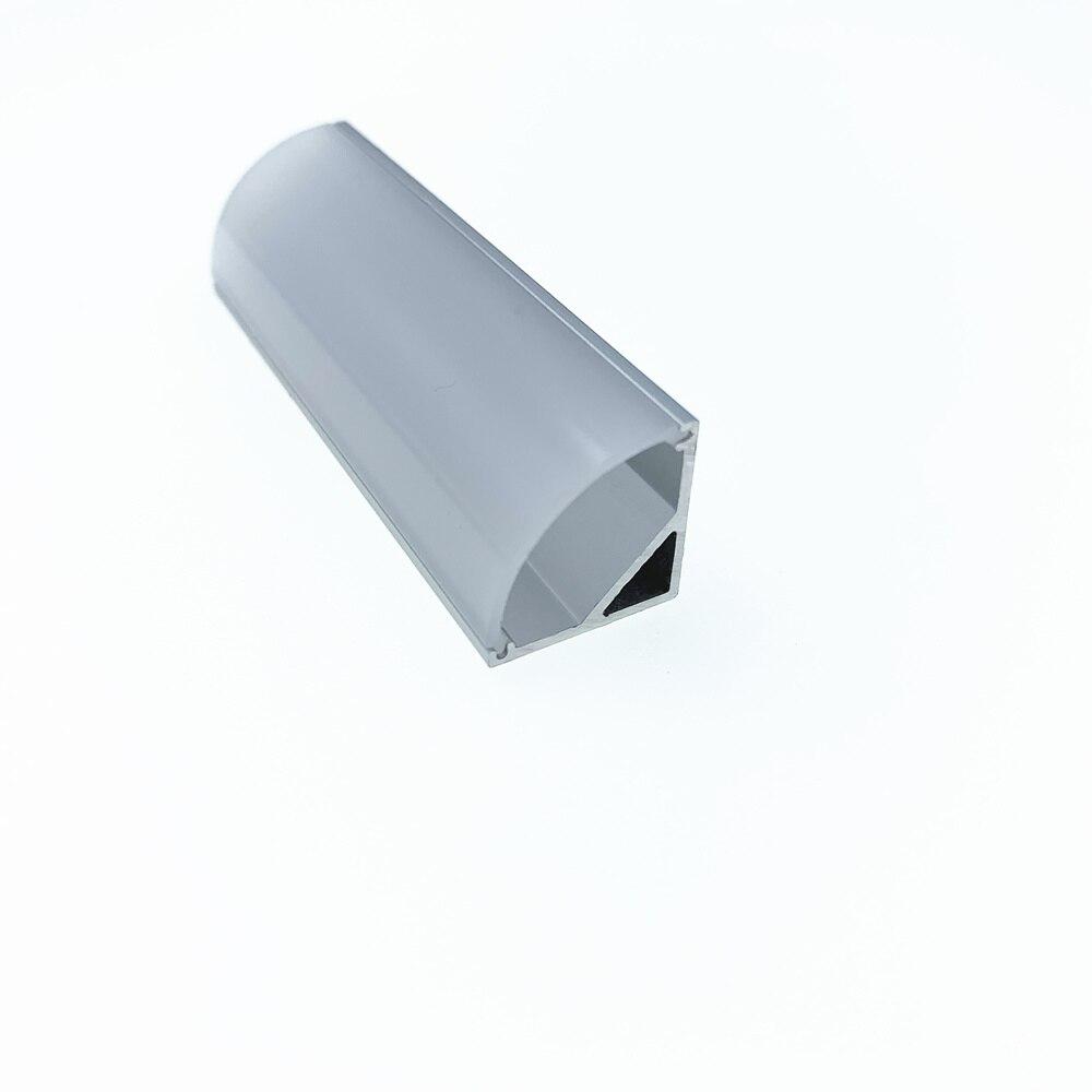 0.5m length led profile corner profile aluminum channel housing Item No.LA-LP12A for 10mm width led strip-free shipping