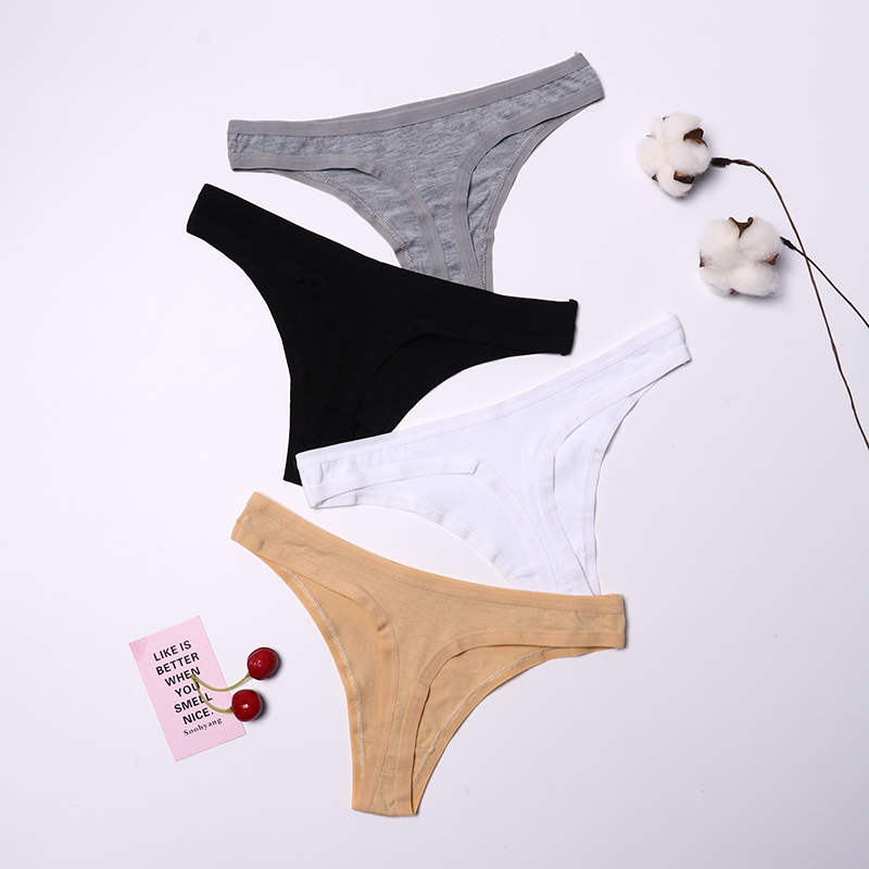 Hot Sale 2019 Seamless Thong Women 11 Color Low Rise G String Seamless Panties Underwear XL XXL XXL