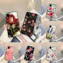 Watercolor plants with flowers Phone Case For iphone 5s 6 7 8 11 12 plus xsmax xr pro mini se Cover Fundas Coque