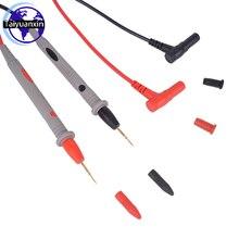 Multimètre universel fils de Test multimètre numérique sondes fil stylo câble 1000V 20A tête plaquée or