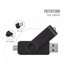 Smartphone Pendrive OTG USB Flash Drive cle usb 2.0 otg pen drive 4g 8g 16g 32g 64G 128G storage devices(China)
