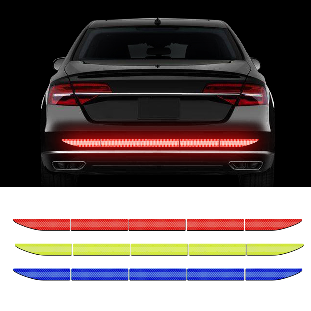 Universal 86.5*3.4cm Car Reflective Sticker Tape Car Accessories Reflective Strip Car Body Trunk Exterior Auto Accessories