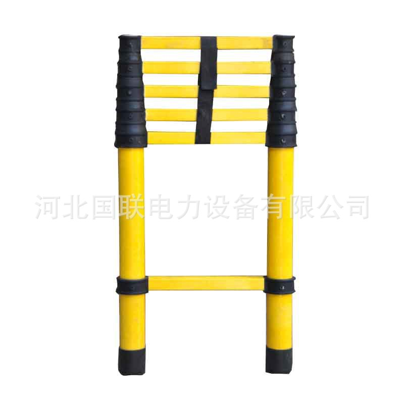 League Electric Power Extension Ladder Bamboo Joint Extendable Glass Steel Electrician Only Manufacturers Currently Available Wh