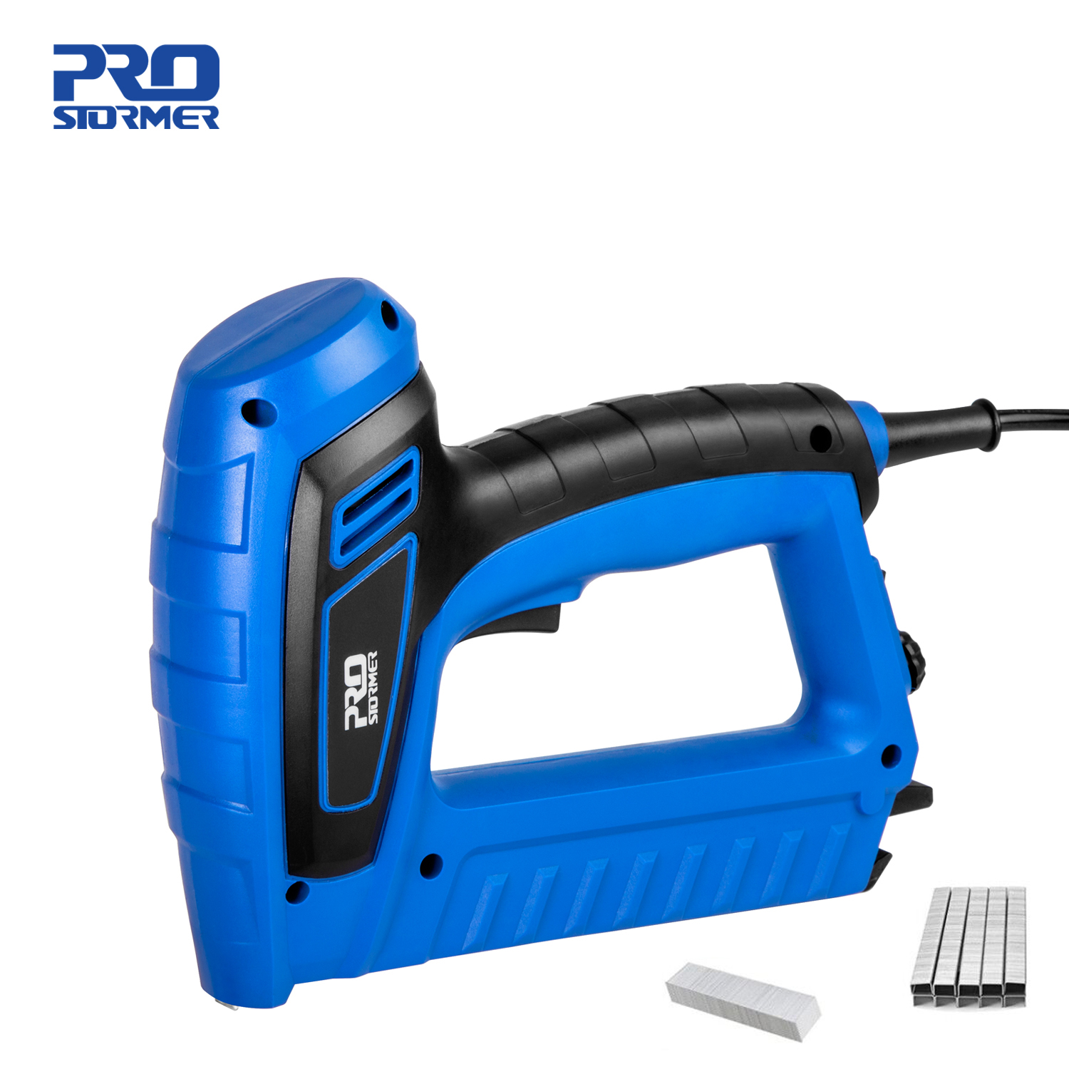 2000W Electric Nail Gun 220V-240V Nailer Stapler Woodworking Electric Tacker Furniture Staple Gun Power Tools by PROSTORMER