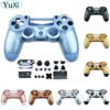 YuXi Replacement Full Set Housing shell and buttons For DualShock 4 PlayStation 4 PS4 Pro V2 JDS 040 JDM 040 Controller Housing