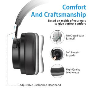 Image 4 - Picun P20 Bluetooth Headphone 5.0 Over Ear Wired Wireless Headphones Foldable Monitor DJ Stereo Headset with Mic Support TF Card