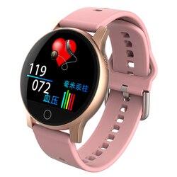 Neue Smartwatch Herz Rate Blutdruck Monitor Fitness Aktivität Tracker Multisport-fahrrad Modus Nachricht Push Sitzende Erinnerung