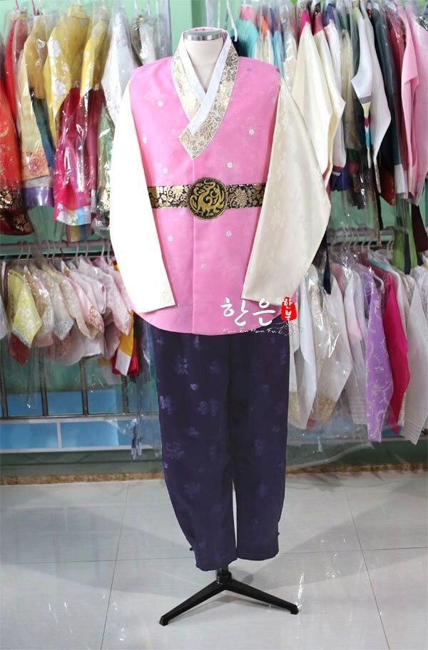 South Korea Imported Hanbok Fabric / Groom Wedding Hanbok / Men's Hanbok