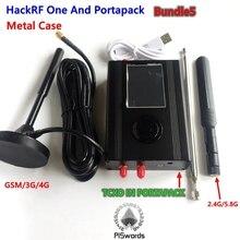 HackRF One réception de logiciel Radio définie de 1MHz à 6GHz, plateforme usb, avec portapck havoc, kit carte de démonstration, récepteur dongle