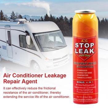 Professional Fix Air Conditioner Plugging Agent Car Fluorescent Leak Detection R134A Refrigerant Oil Leak Repair Agent auto air conditioner leak test service r134a for japanese car europe car ac a c leaking repair test tools device