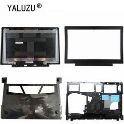 YALUZU nowy pokrowiec na Lenovo Ideapad 700-15 700-15isk Laptop LCD tylna pokrywa czarny/LCD osłona pokrywy