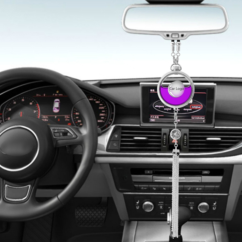 Автомобильные брелки с логотипом диффузор освежитель воздуха аромат Подвеска для зеркала заднего вида аромат для автомобиля