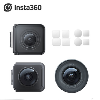 Oryginalna kamera sportowa Insta360 ONE R 4k podwójny obiektyw Mod 360 Mod 1-Cal Mod Leica Mod tanie i dobre opinie Inne Serii SONY Ambarella H2 (4 K 60FPS) O 14MP CN (pochodzenie) Dla Domu