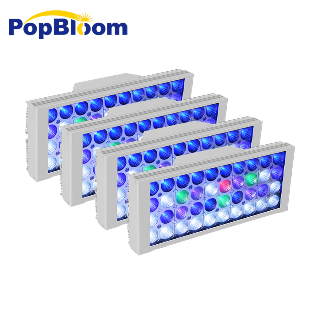 Le réservoir de poissons de PopBloom allume la led pour aquarium pour la lampe d'aquarium