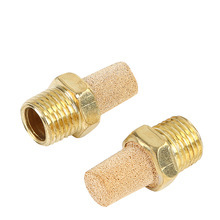 5Pcs Brass Pneumatic Muffler M5 1/8 1/4 3/8 1/2 3/41 Thread Air Silencers Fitting Noise Filter Reducer Connector