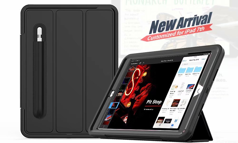 10.2 case Case smart For Armor 7th ipad For Kickstand 2019 Shockproof generation iPad